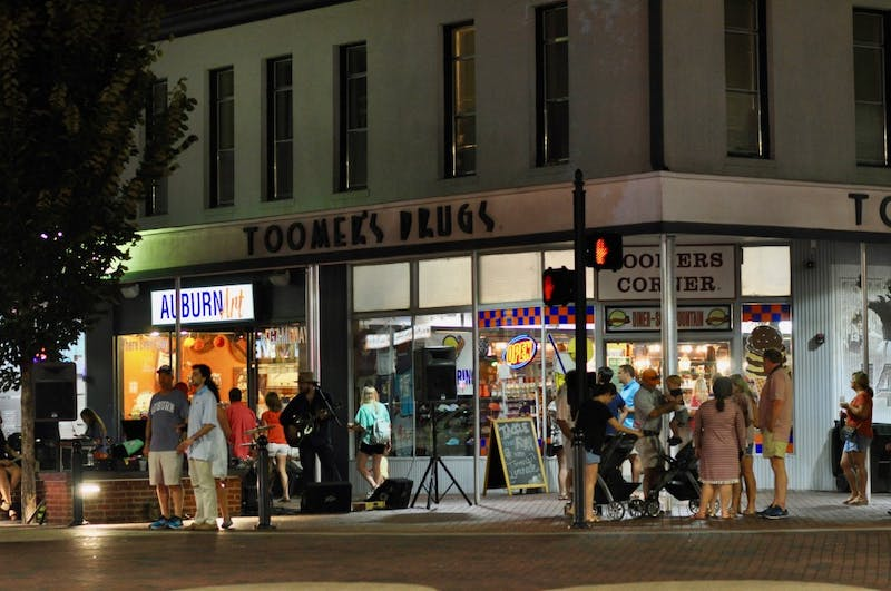Toomer's Drug's during the Come Home to the Corner event on Friday, Sept. 14, 2018 in Auburn, Ala.