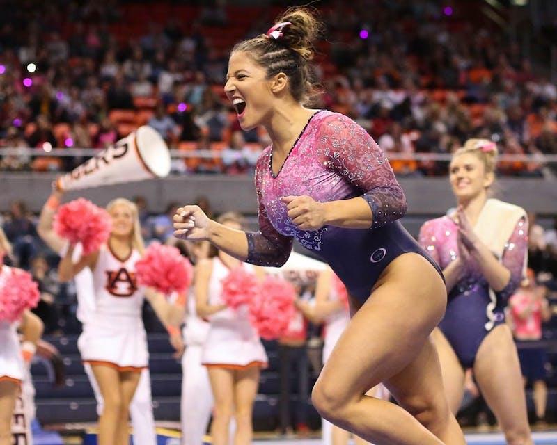 Auburn grad and gymnast Taylor Krippner wins prestigious dietetics internship.