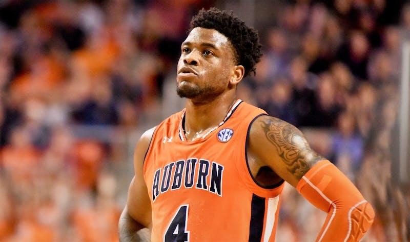 Malik Dunbar (4) during Auburn basketball vs. Alabama on Feb. 2, 2019, in Auburn, Ala.