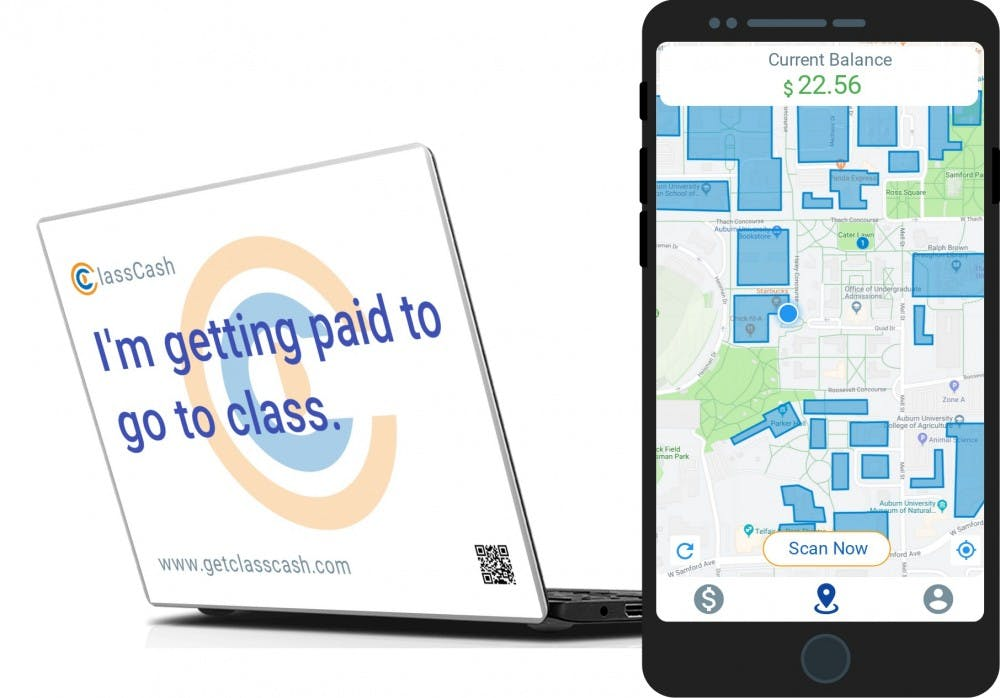 Alumni app gives students cash for studying time