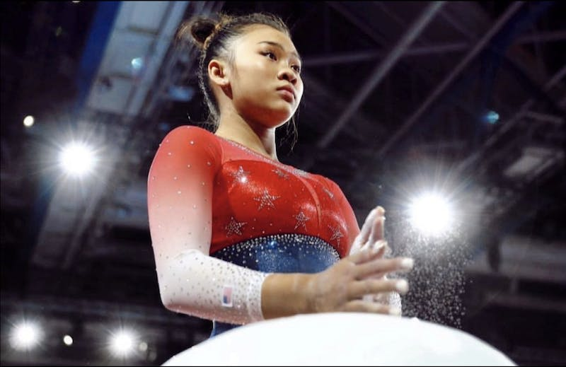 Sunisa Lee is a member of the U.S. national team and has signed a gymnastics scholarship with Auburn University.