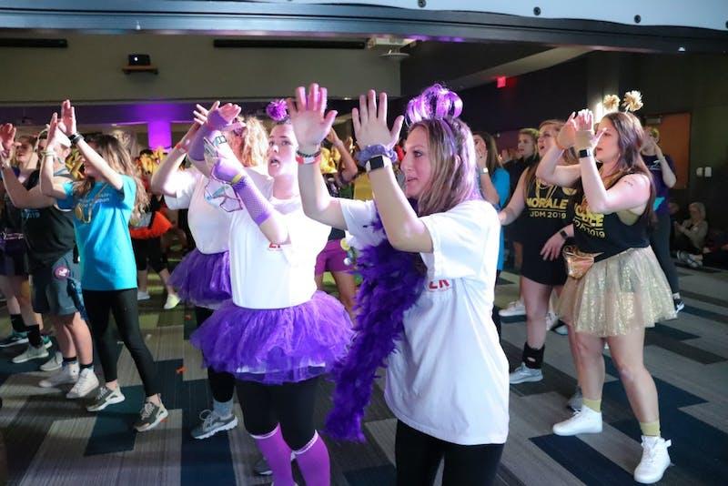 AUDM participants dancing on Feb. 9, 2019, in Auburn, Ala.