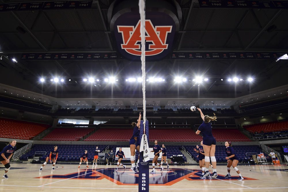 How Auburn volleyball navigated COVID
