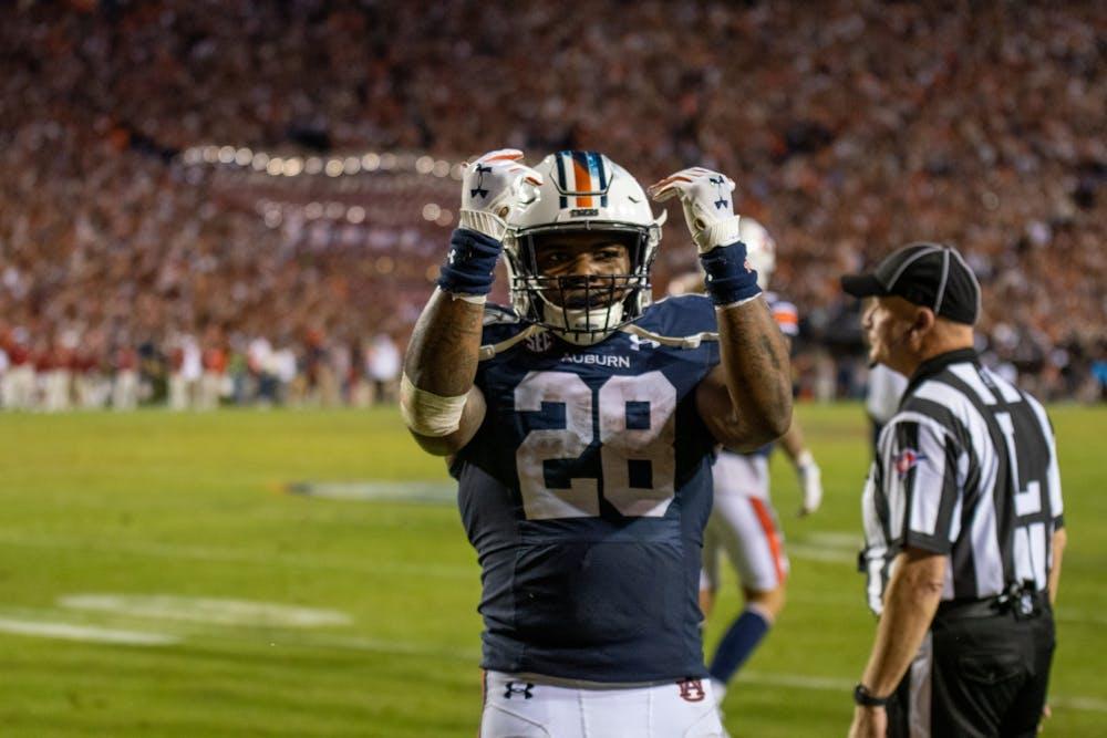 Report: Auburn's leading rusher Boobee Whitlow entering transfer portal