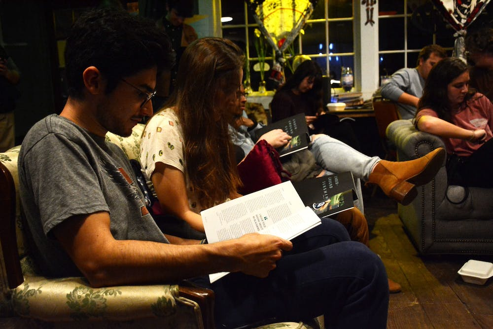 Students share literary work at SNAPS event