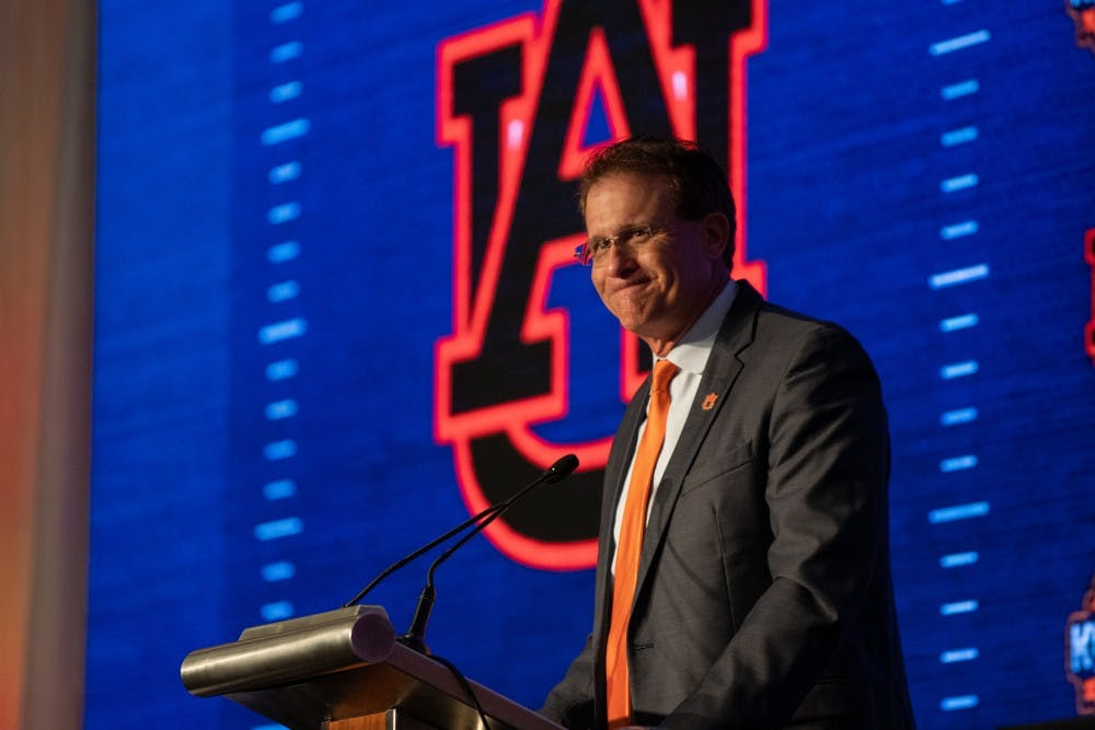Auburn ranked No.16 in first AP poll, will face six teams ranked in top 12