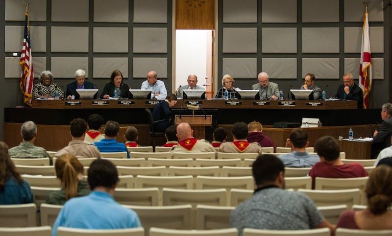 Auburn City Council meeting on Tuesday, Nov. 7 in Auburn, Ala.