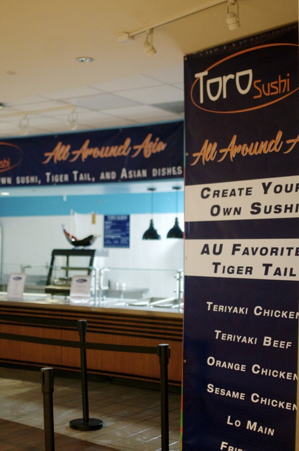 Toro Sushi now open in Student Center