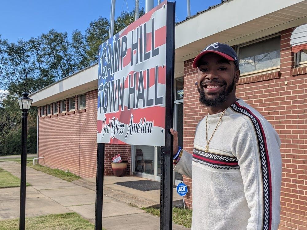 Auburn student serves as mayor of Camp Hill