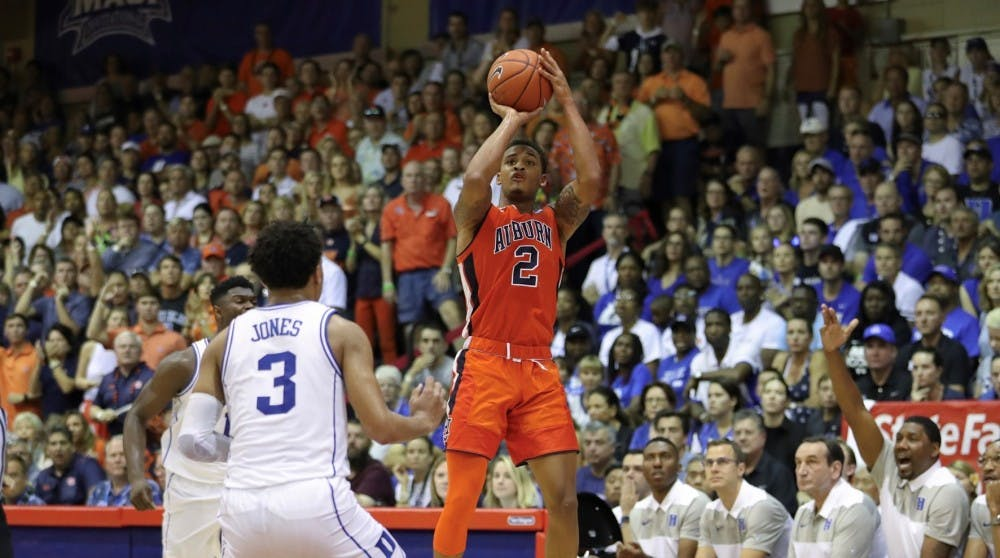 Auburn guard Bryce Brown named co-SEC Player of the Week