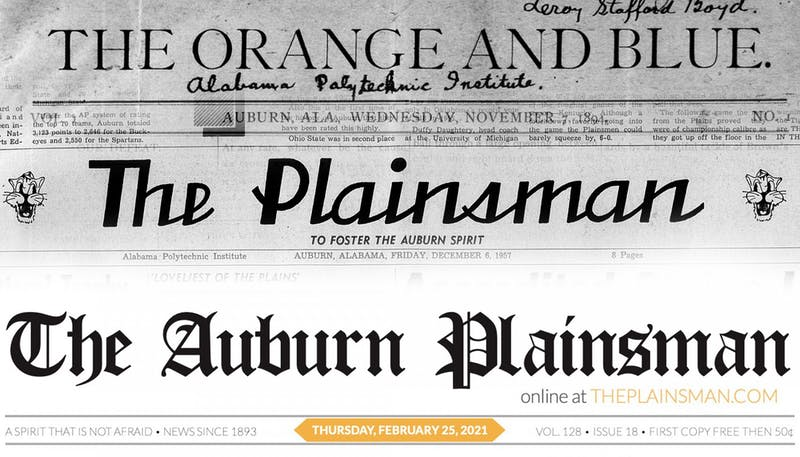 The Plainsman has changed its name over the years, but our commitment to honest, critical journalism has not.