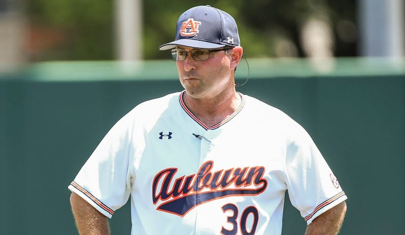 Butch Thompson. Auburn vs Northeastern during the NCAA Baseball Regionals on Friday, June 1, 2018, in Raleigh, NC.