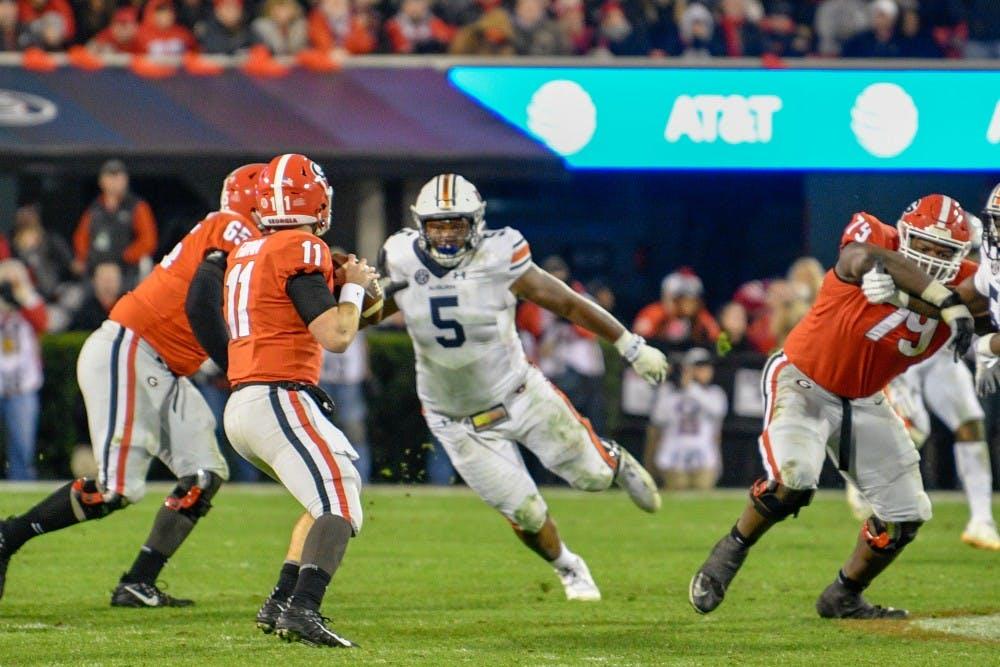 Auburn's matchup with No. 4 Georgia provides flashbacks to 2017