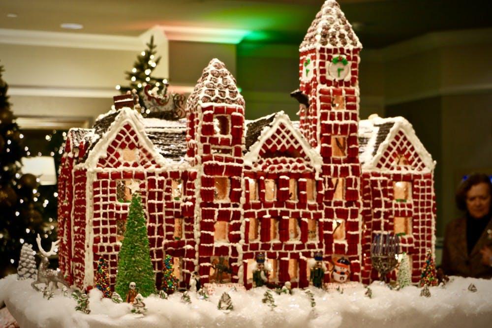 Auburn buildings a treat in this season's Gingerbread Village