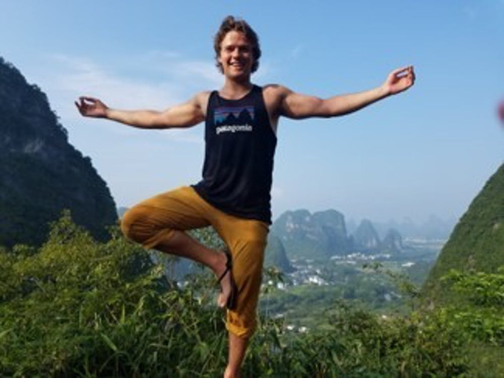 Man changes life, health through yoga