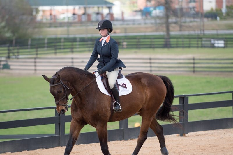 Auburn equestrian defeats South Carolina, 12-7, on Saturday, Feb. 24, 2018, in Auburn, Ala.