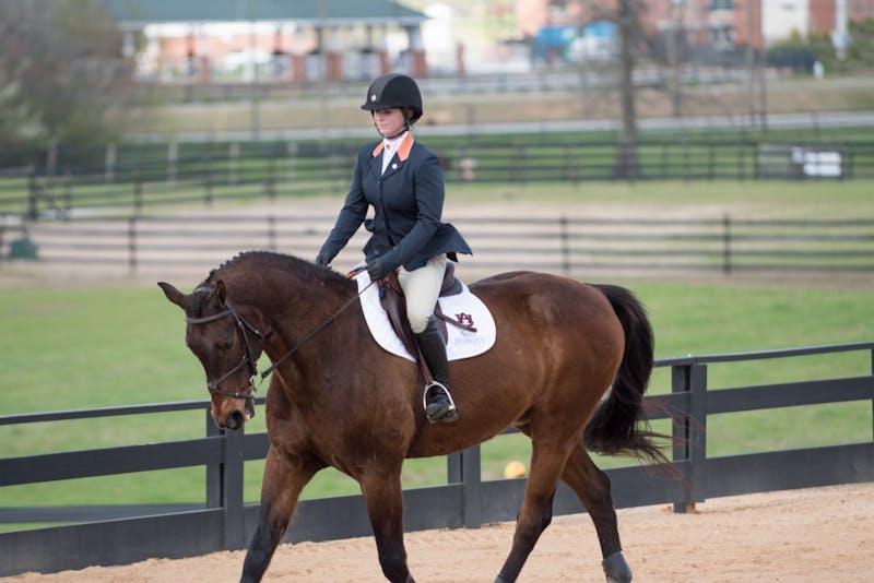 Auburn equestrian defeats South Carolina, 12-7, on Saturday, Feb. 24, 2018, in Auburn, Ala.