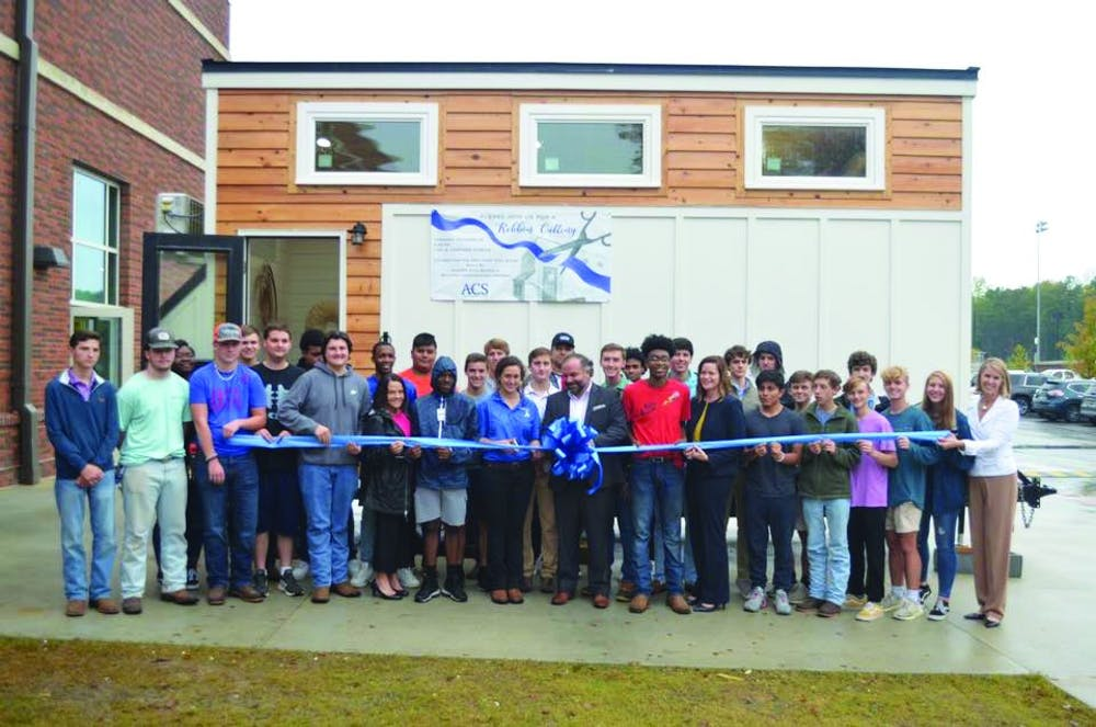 AHS class plans to sell newly built Tiny House