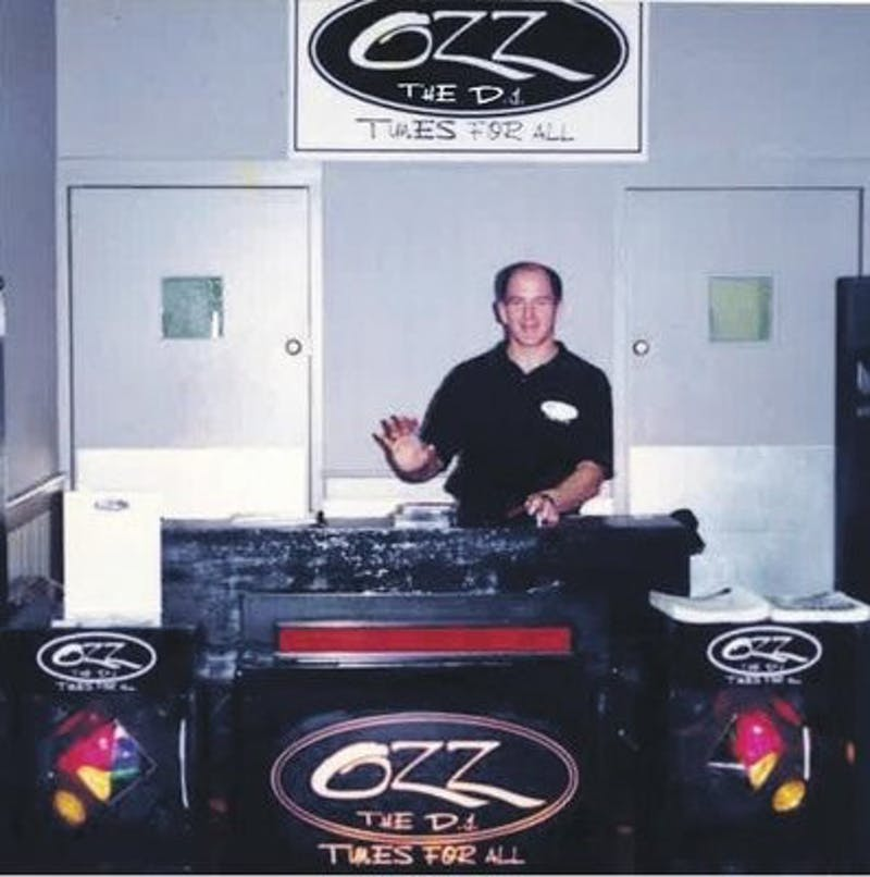"""DJ Ozz performed at the 10th annual Daddy-Daughter dance. """"Those are my favorite dances,"""" Ozz said. (Courtesy of DJ Ozz)"""
