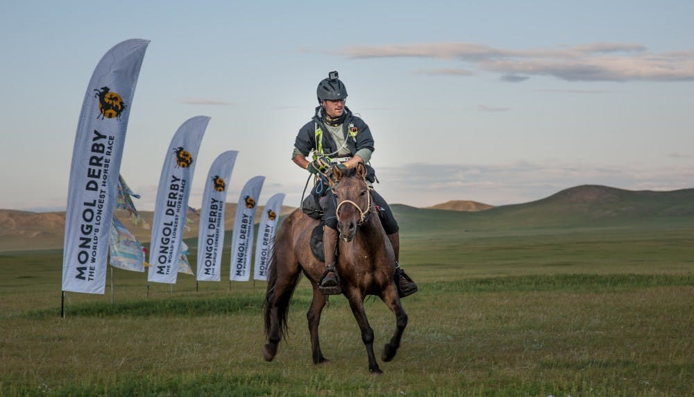 Student competes in world's longest horse race