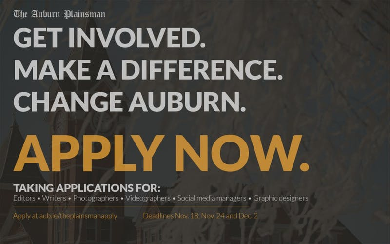Applications are open for spring.