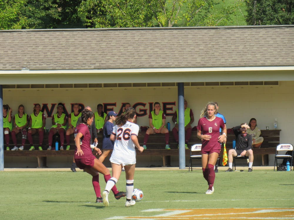 Auburn soccer drops to No. 12 in latest poll