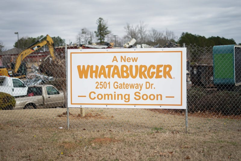 The new Whataburger location near Tiger Town will be the 19th in the state.
