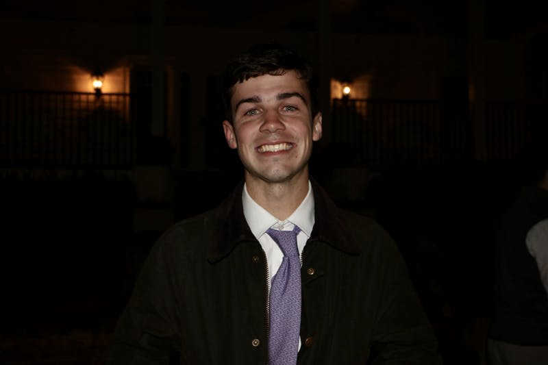 Hays Kassen was elected Vice President of SGA during callouts on Tuesday, Feb. 4, 2020, in Auburn, Ala.