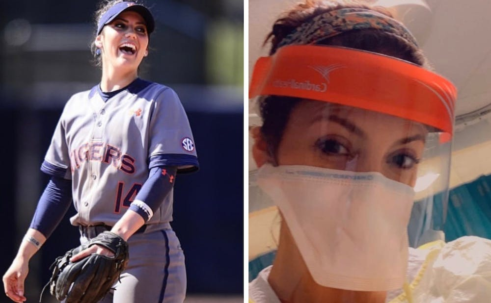 From Auburn softball to the front lines of COVID-19: Kelsey Bogaards' story