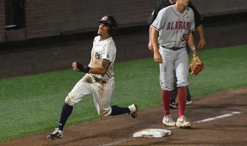 Will Holland (17). Auburn baseball vs Alabama on Saturday, May 4, 2019, in Auburn.