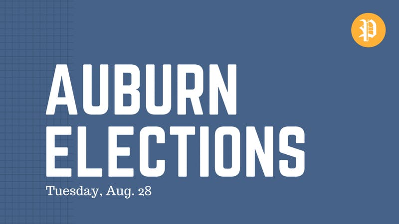 Auburn's municipal elections are set for Tuesday, Aug. 28.
