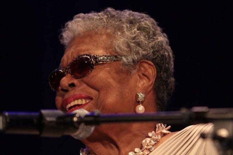 Maya Angelou on the Plains