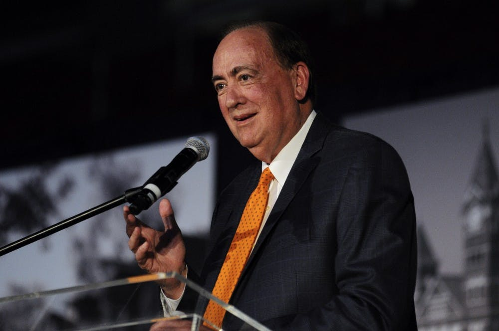 Former Auburn President Jay Gogue recommended as interim president