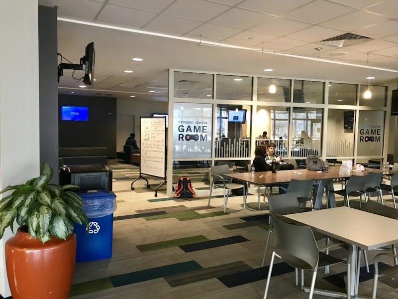 The Auburn University Student Center Game Room on Tuesday, Jan. 22, 2019 in Auburn, Ala.
