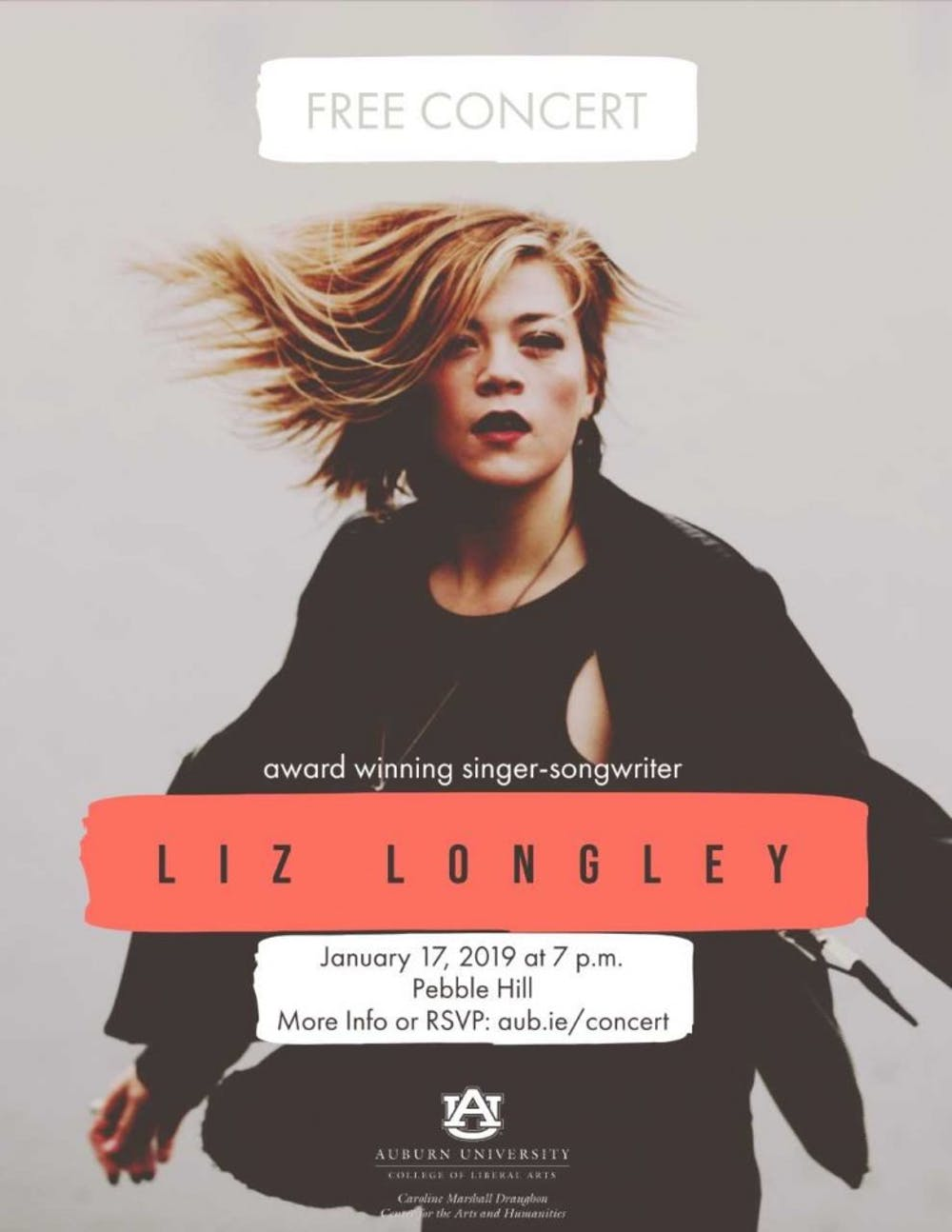 Liz Longley to perform her albums at Pebble Hill