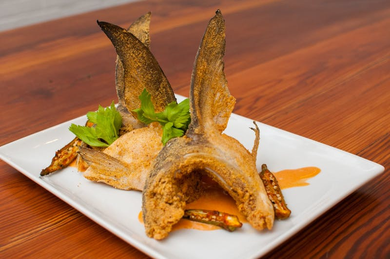 Contributed by The Depot Flash Fried Cobia Wings is one of The Depot's sustainable seafood dishes.