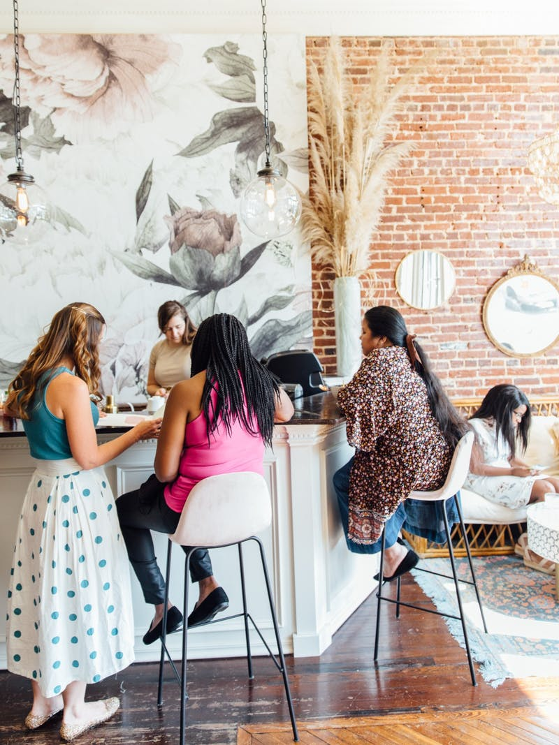 The Well is a tea room which opened in downtown Opelika on March 20, 2021.