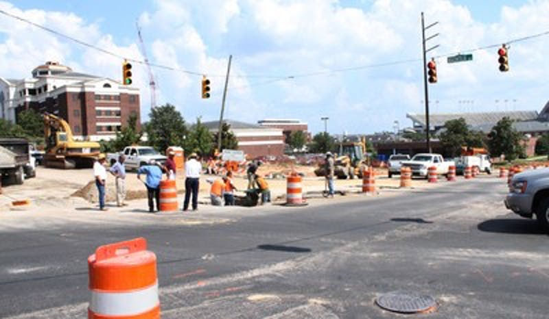 Magnolia Avenue construction continues