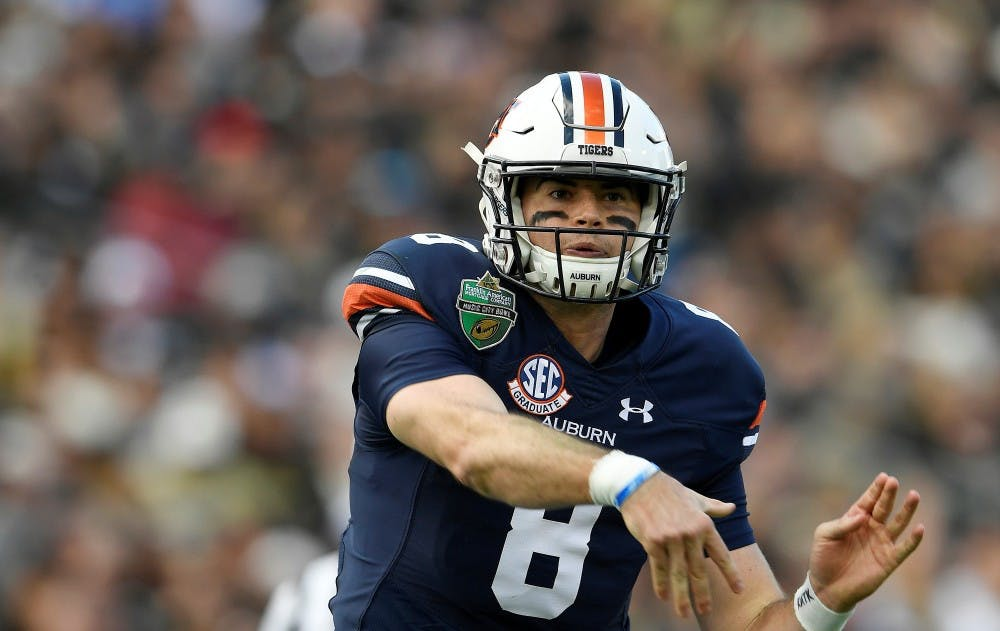 Jarrett Stidham closes Auburn career with MVP performance