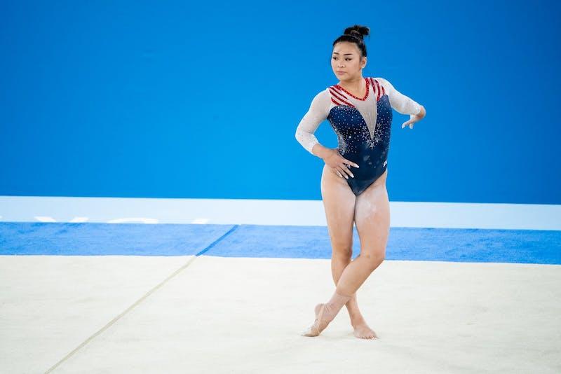 Sunisa Lee (USA) Photo via: John Cheng/USA Gymnastics.