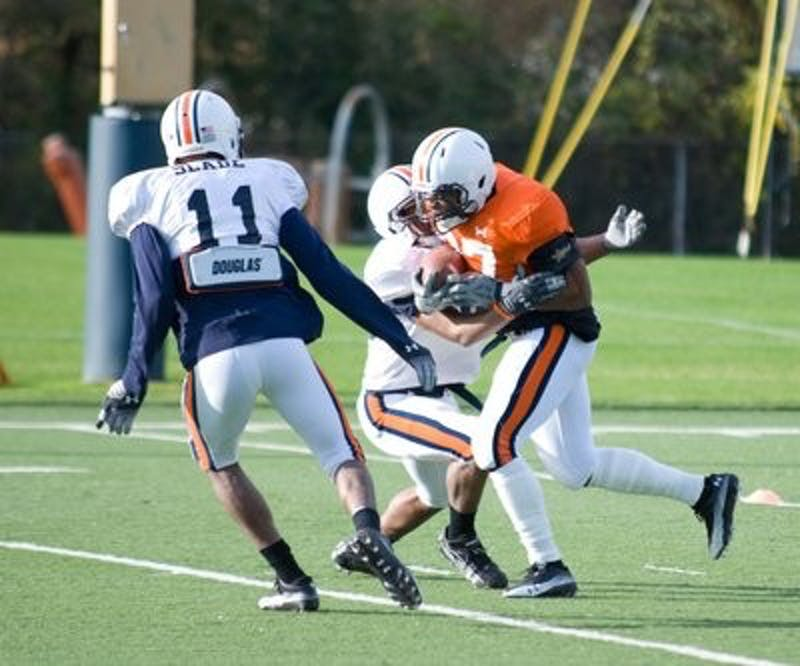 Auburn Football Practice 12.16.09