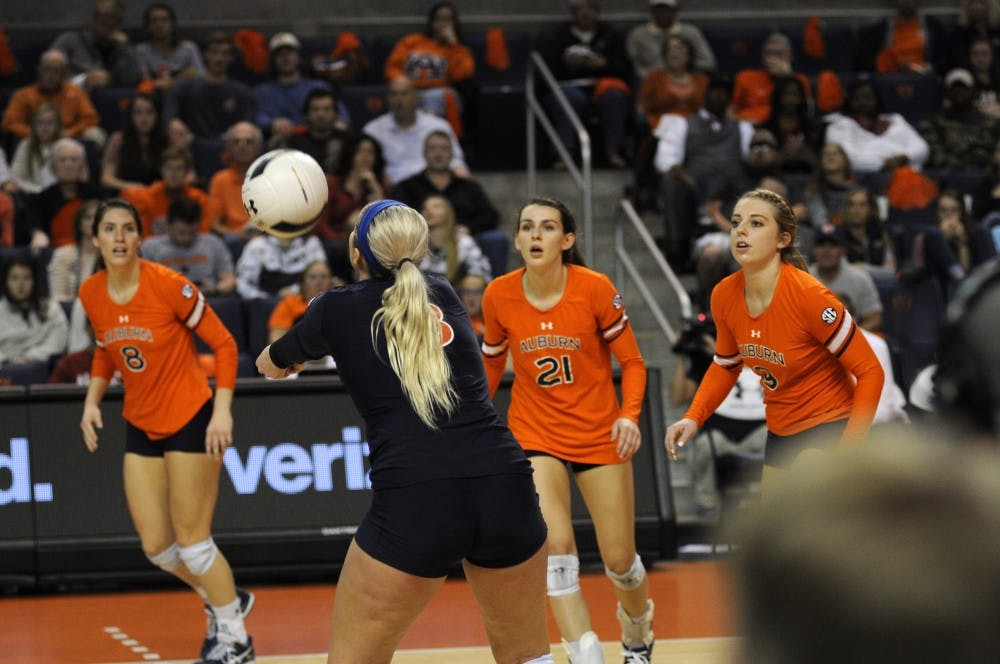 'Costly errors' lead to Auburn volleyball loss at No. 25 Alabama