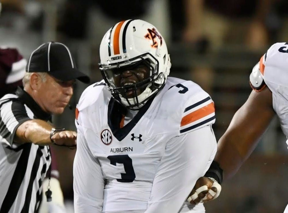 'Nothing to play with': Auburn D-line fiery in spring with returning talent, Malzahn's new approach