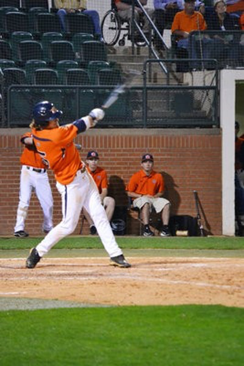 The Auburn Tigers could not capitalize on a ninth-inning surge against the Purdue Boilermakers Friday night, losing 9-8 in Plainsman Park.