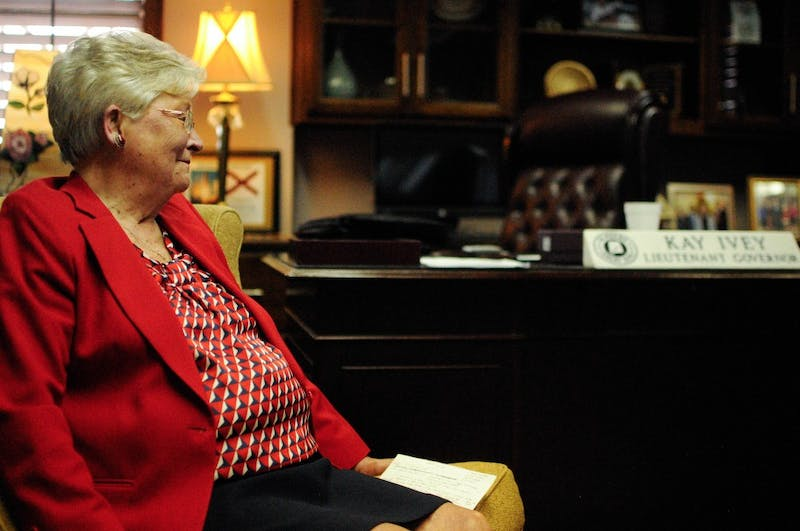 Kay Ivey, Lieutenant Governor of Alabama, in her office in Montgomery, Ala. on Tuesday, April 12, 2016.