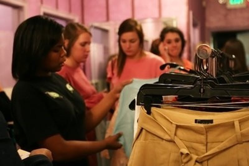 Auburn hosts its first fashion week at Ellie Boutique in downtown Auburn Friday night.