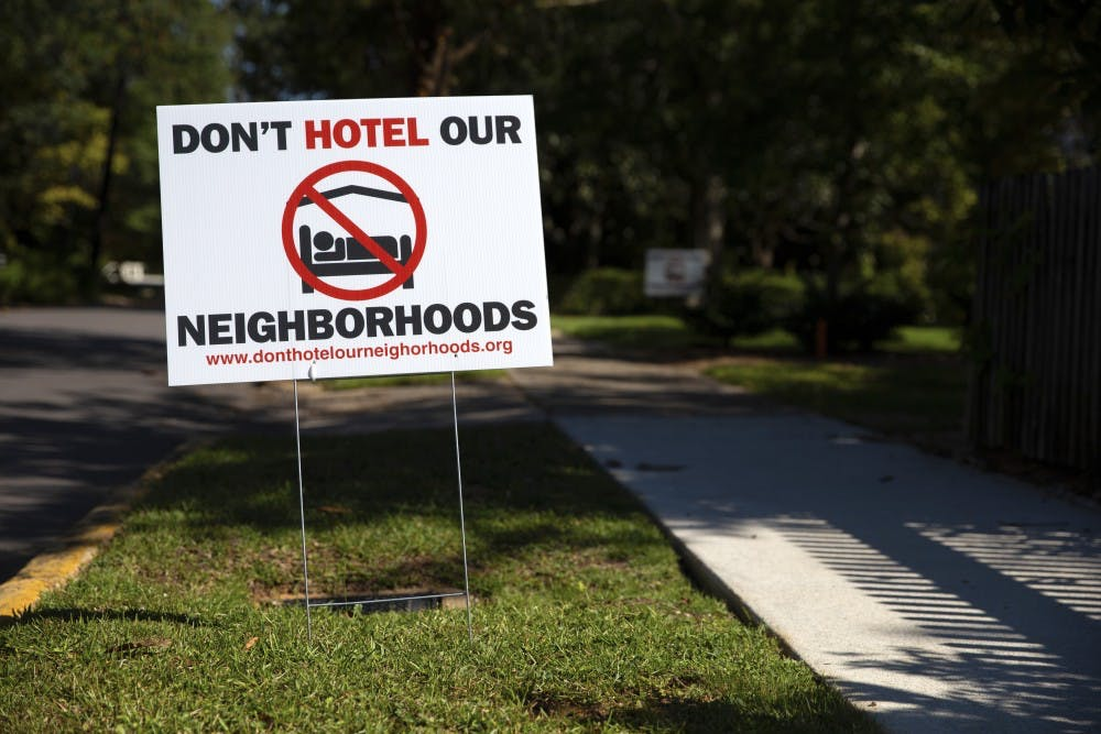 Group speaks out against short-term rentals