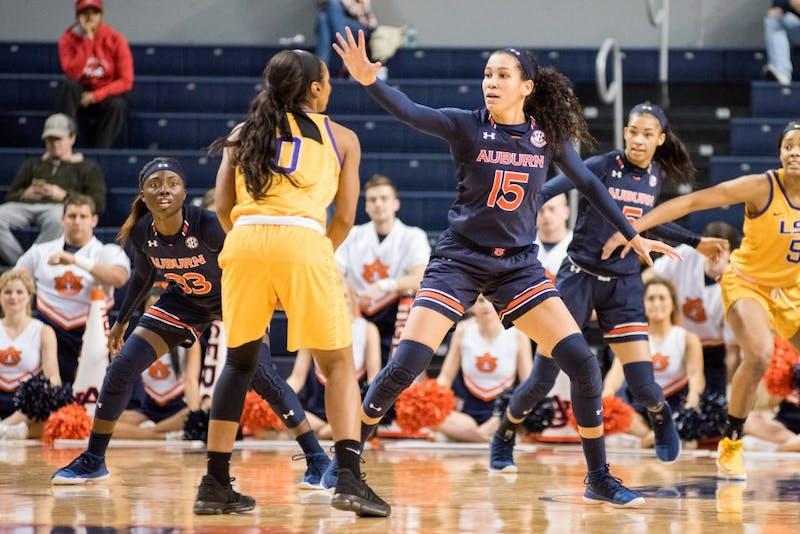 GALLERY: Auburn Women's Basketball vs. LSU | 2.8.2018