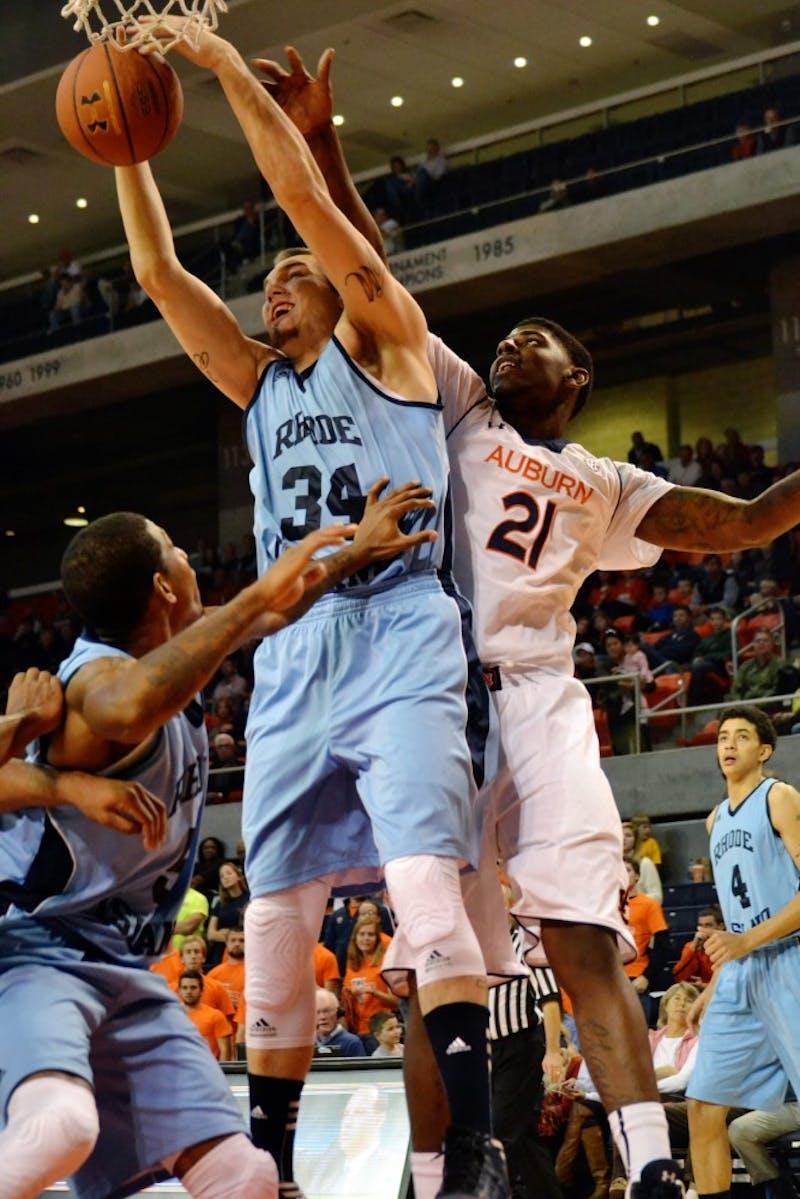Auburn Basketball vs. Rhode Island Nov. 25, 2012