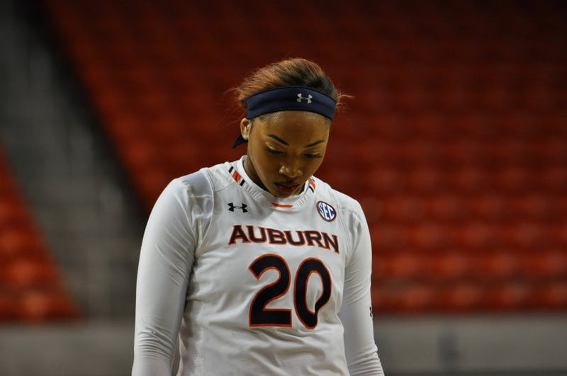 Unique Thompson (20) during Auburn Basketball vs. GSU on Tuesday, Nov. 6, 2018 in Auburn, Ala.